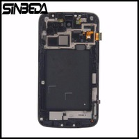 Sinbeda Black Or White LCD For Samsung Galaxy Mega 6 3 I9200 I9205 LCD Display Touch