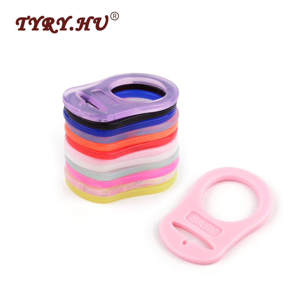 TYRY.HU BPA Free 10Pcs Silicone Beads Baby Teething Chewable Beads Nursing Accessories For Baby DIY Jewelry Bracelet Crib Toy