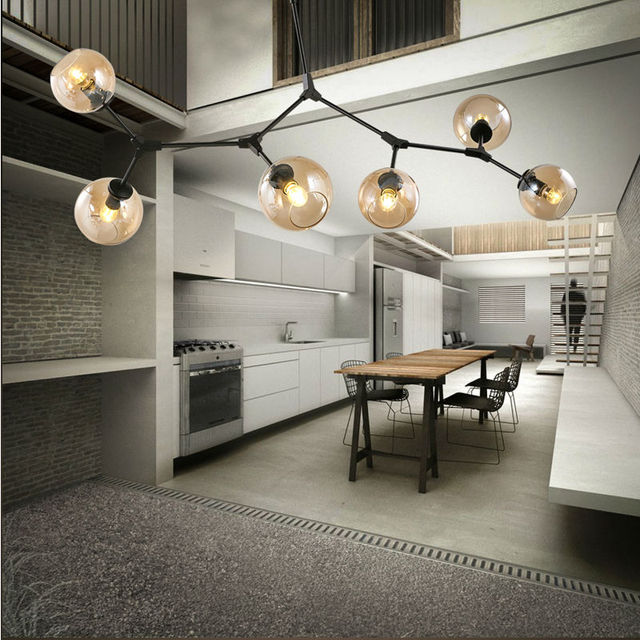 Moderne led hanglampen lamp voor woonkamer Restaurant suspension ...