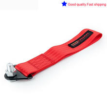 Tow strap hook point CAMS regulations compliant RED 250 mm long race(China)