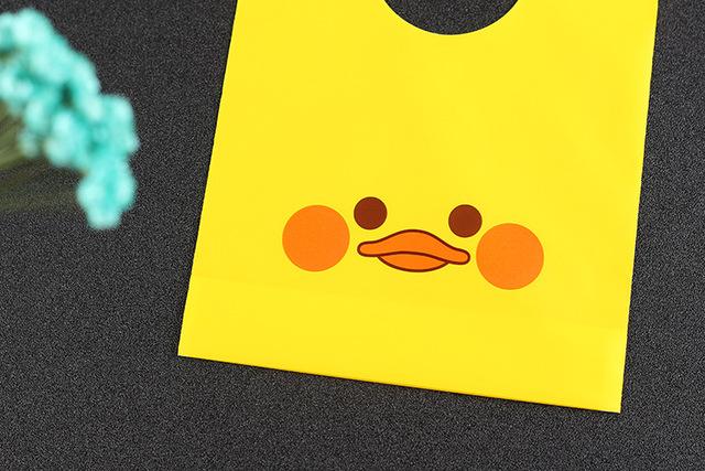 Yellow Candy Bags 50 pcs/lot