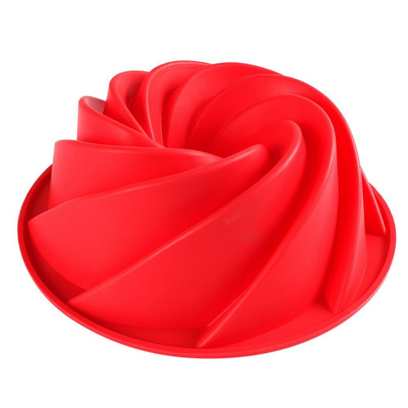 Bakeware in Red Rose Flowers Shape Used for Baking Wedding Cake as Decorating Tools Suitable for Confectionery Dishes in Microwave Oven 3