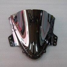 Motorcycle Part Silver Windshield / Windscreen For Suzuki GSXR GSX-R1000 K5 2005 2006 05 06
