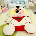 Dorimytrader 230cm x 150cm Japan Anime Ultraman Beanbag Soft Plush Giant Bed Carpet Tatami Sofa Nice Gift Free Shipping DY60560