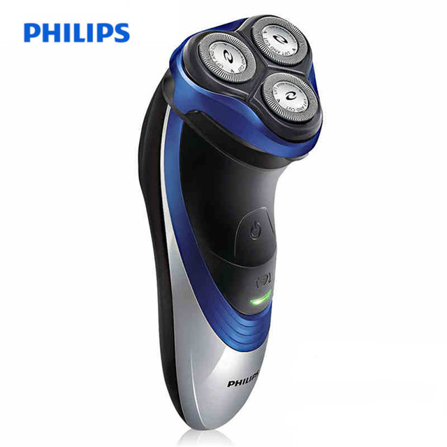 Philips 110-240 V recargable Afeitadora eléctrica 3D triple cuchilla  flotante cabezas seguro Cara Cuidado f752dc3b2179