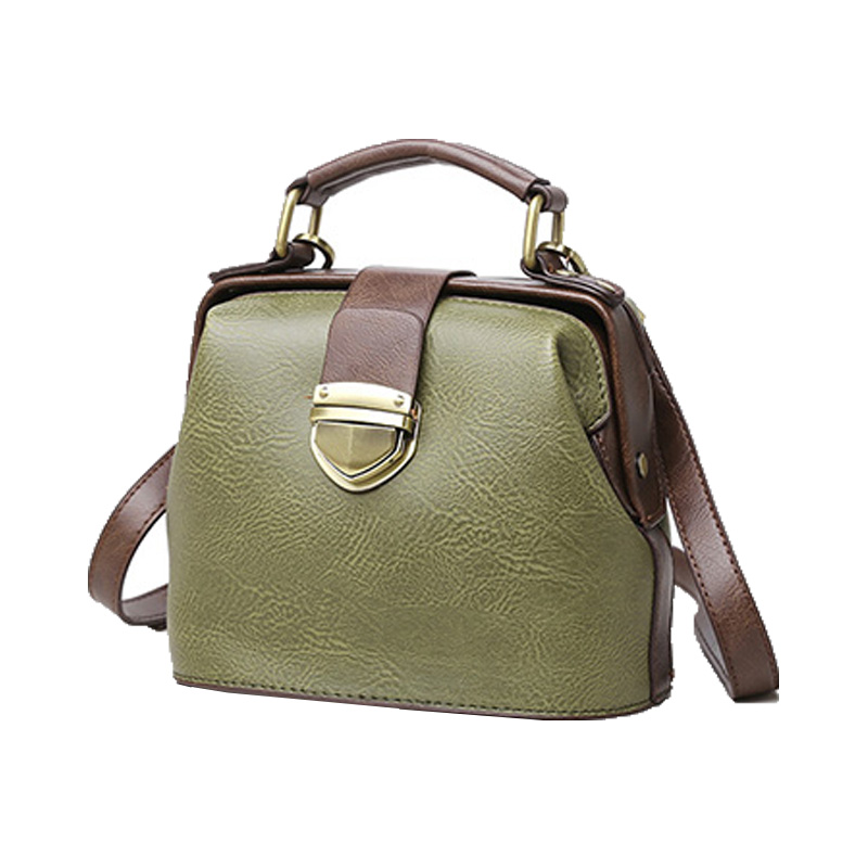 Luxury Brand Women Handbags Famous Designer Doctor Bags PU Leather Vintage Shoulder Crossbody Bags For Women Bolsos Mujer 2016 luxury handbags women bags designer 2016 pu leather crossbody bags for women vintage famous designer hand bags bolsos de mujer