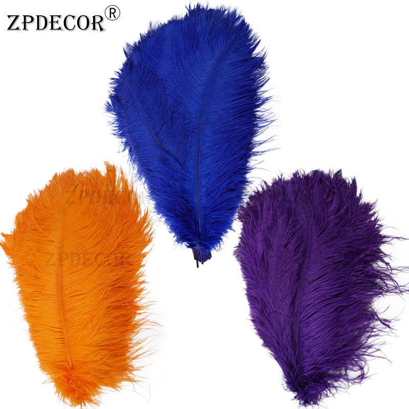 18-20 Inch 45-50CM Frist-Grade Ostrich Feather for DIY Jewelry Craft Making(China)