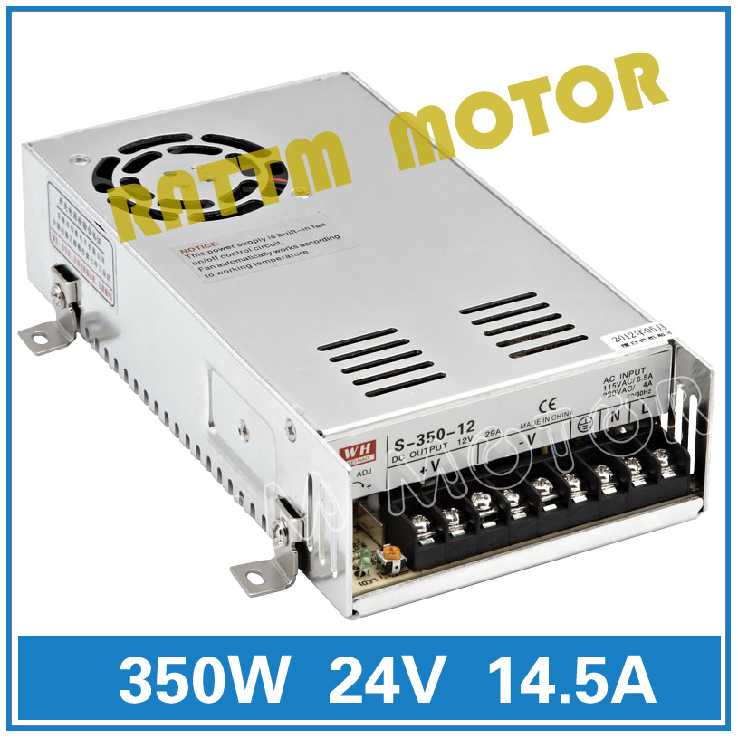From EU 350W 24V Switch Power Supply! CNC Router Single Output Power Supply 350W 24V Foaming Mill Cut Laser Engraver Plasma