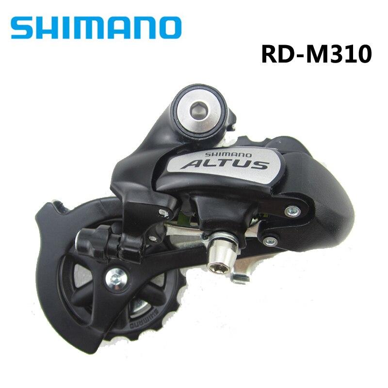 SHIMANO Altus Bike Front Derailleur FD-M310 /& Rear Derailleur RD-M310 7//8S Black