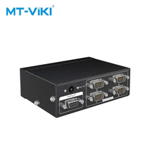 MT-viki RS232 splitter 4 Port DB9 Serial Splitter 1 in out Unterstützung Bidirektionale Übertragung adapter MT-RS104
