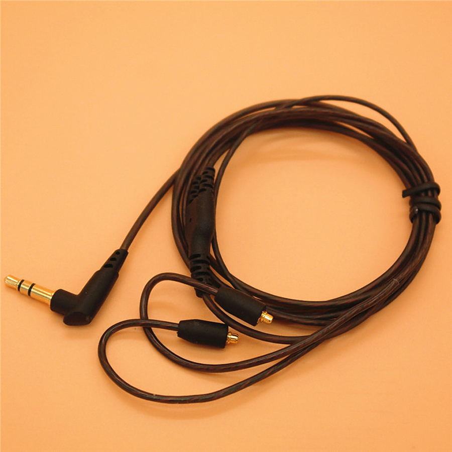 DIY Replacement Earphone MMCX Cable for Shure SE215 SE535 SE846 UE900 Upgraded 14 Cores Headset Audio Cord for iphone xiaomi 2016 senfer ue custom made around ear earphone hifi monitor earphone bass headset with mmcx interface cable as se215 ue900 se846