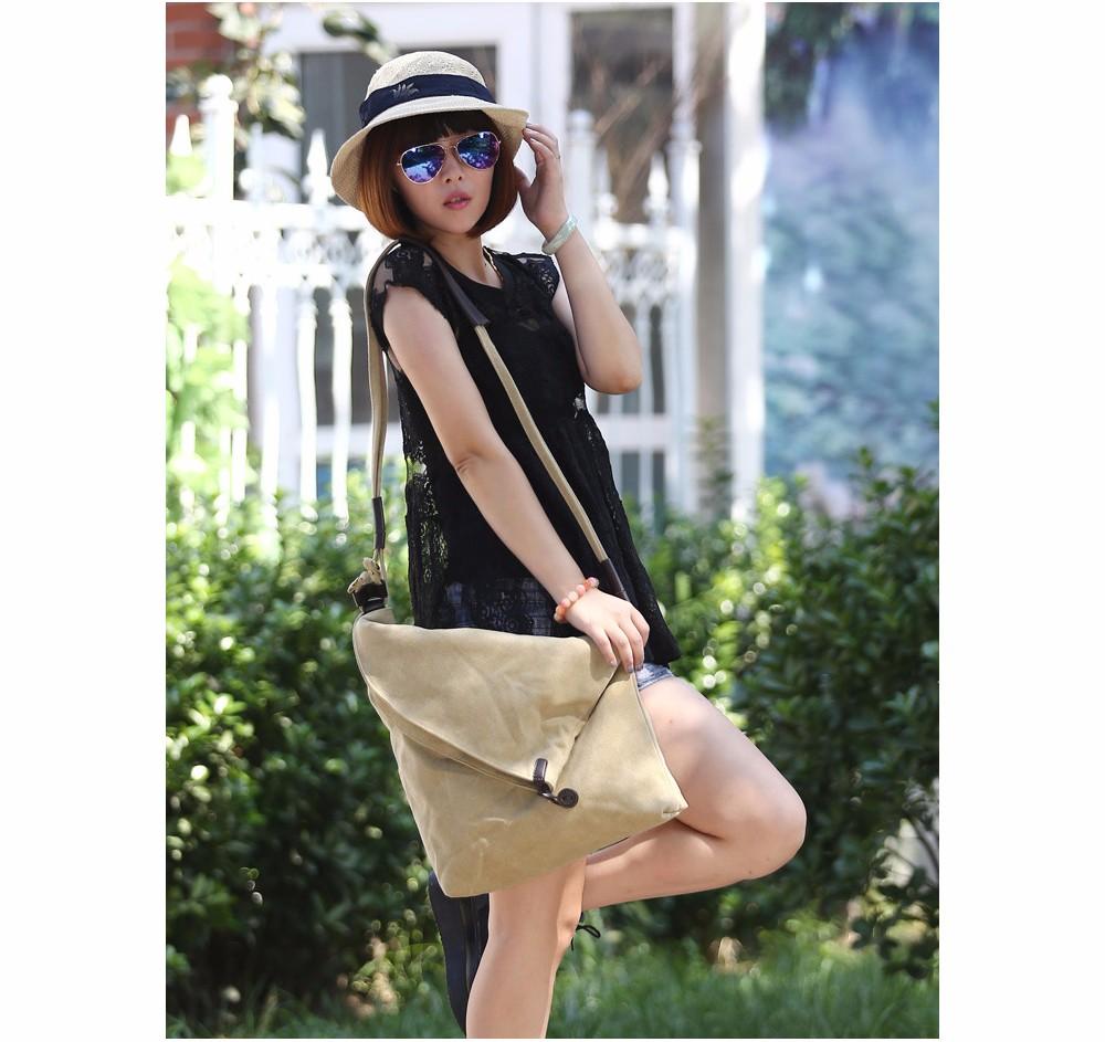 Vintage Canvas Shoulder Bag European And American Style Casual Unisex Handbag Men Women Retro Large Capacity Messenger Bags TTOU (3)