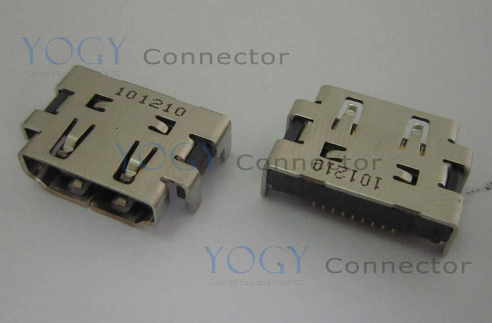 1pcs Female hdmi socket jack fit for lenovo ideapad 100s-11iby 80r2 series laptop motherboard hdmi port