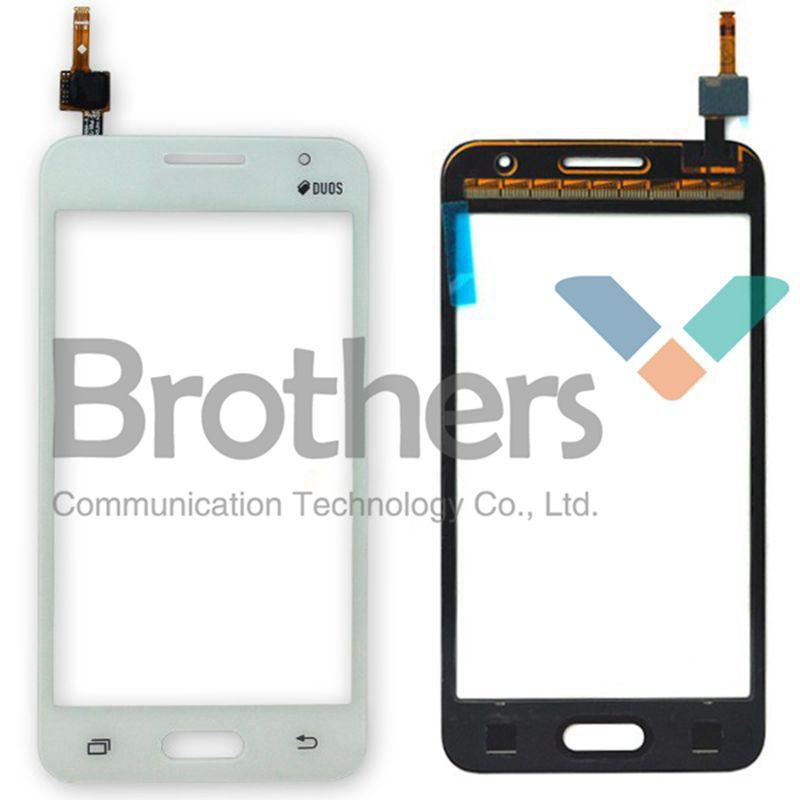 Pour Samsung Galaxy Core 2 B0511 G355H G355 Tactile Écran avec Digitizer Mobile Téléphone Tactile Panneau Pour Samsung B0511 G355H G355