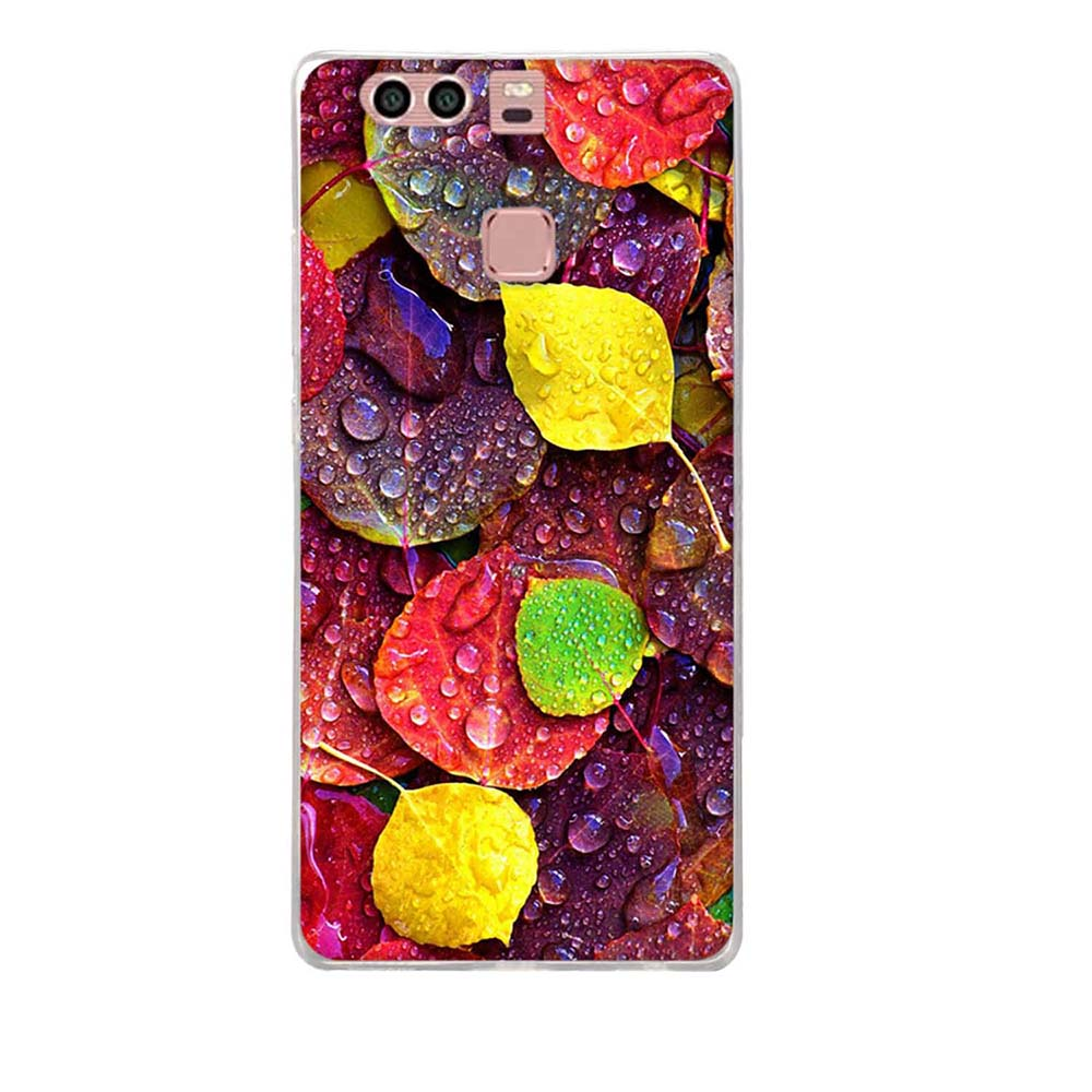 Case For Huawei P9 Case Cover Silicone 3D TPU Soft Patterned Cover For Fundas Huawei P9 Cover For Fundas Huawei P9 Phone Case