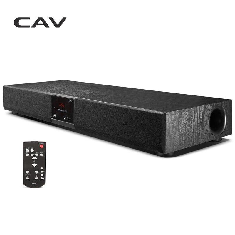 CAV TM920 Bluetooth Soundbar Colonne Tout-en-un Numérique Amplificateurs 2.1 Barre de Son DTS Stéréo Son Home Cinéma colonne Haut-Parleur