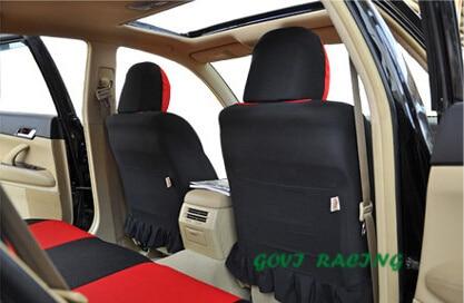 9 sztuk / partia hot Universal Car Seat Cover ochraniacz czerwony - Akcesoria do wnętrza samochodu - Zdjęcie 5