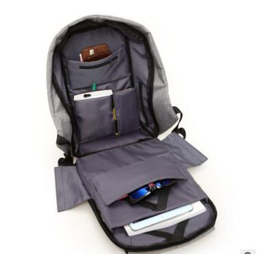 mochilas multifunction carga usb do Closure Tipo : Zipper Usb Charge Computer Backpacks