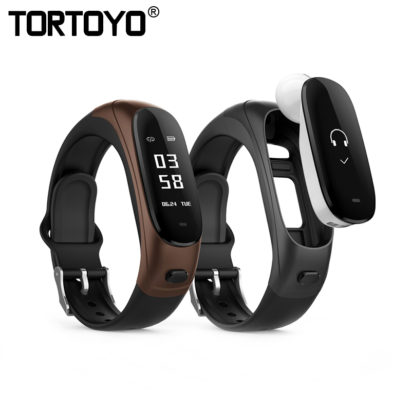 TORTOYO V08 Wireless Bluetooth Earphone Smart Band 2 in 1 Earband Smart Bracelet Wristband Heart Rate Blood Pressure Monitor newest v08 wireless earphone smart band 2 in 1 bluetooth headset wristband heart rate blood pressure monitor smart bracelet