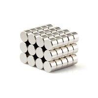 NdFeB Magnet Diametrically Disc Dia. 6x4 mm Experiment Using N38 Brushless Motor Magents 50 100pcs Drop Shipping