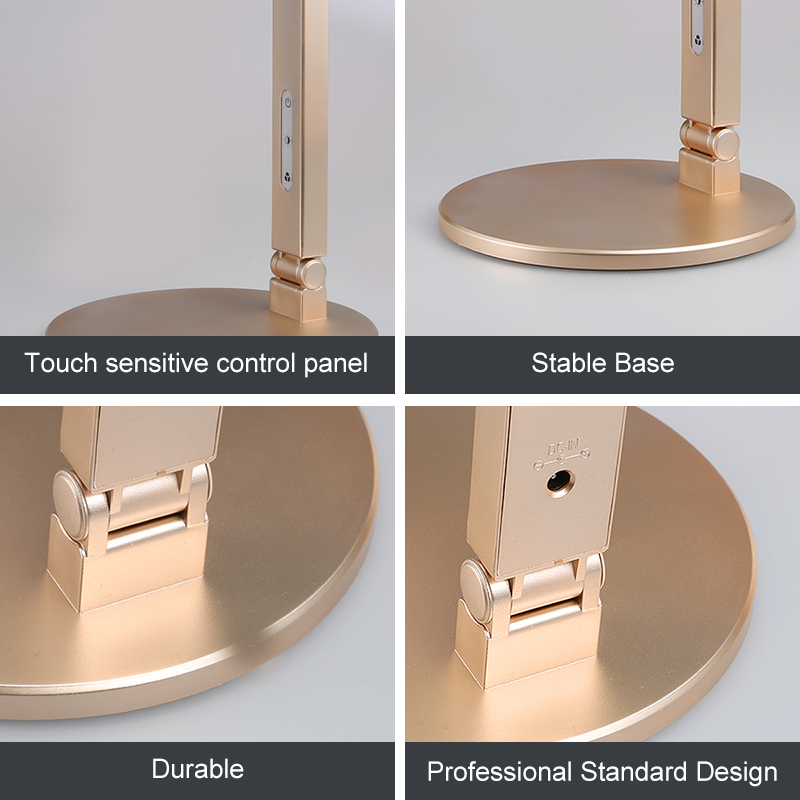 Modern Eye caring Desk Lamp 8W Touch Control Glare free lampe led ...