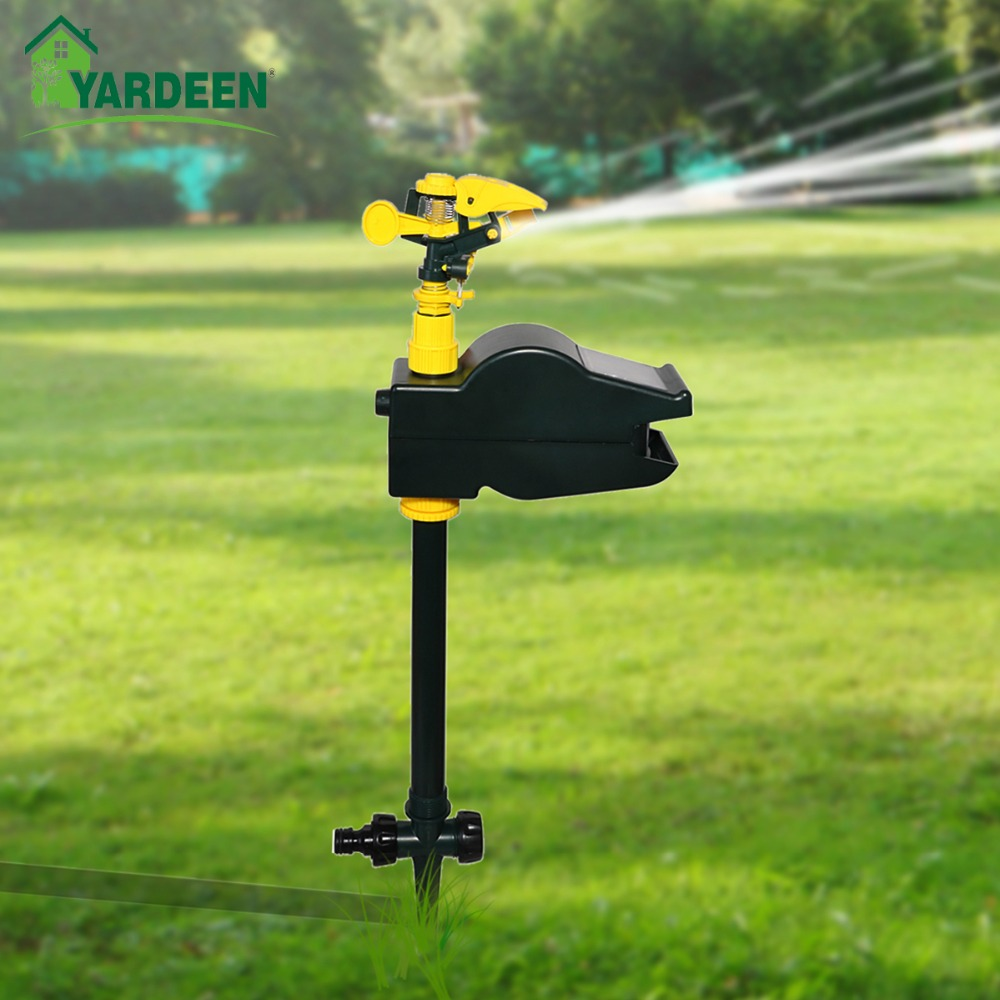 Graden Eco friendly Jet Spray Animal Repeller Bird Dog Cat Repellent Solar Motion Activated Powerful Garden