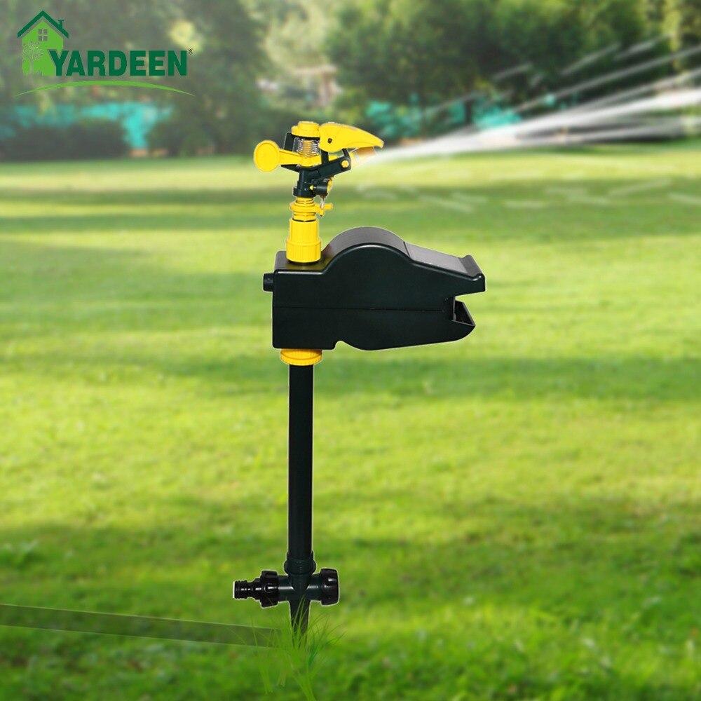 Graden écologique Jet Spray Animal répulsif oiseau, chien, chat répulsif solaire activé puissant jardin