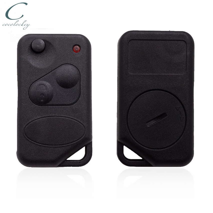 Replacement 2 button flip key case for Range Rover P38 remote fob Land Rover