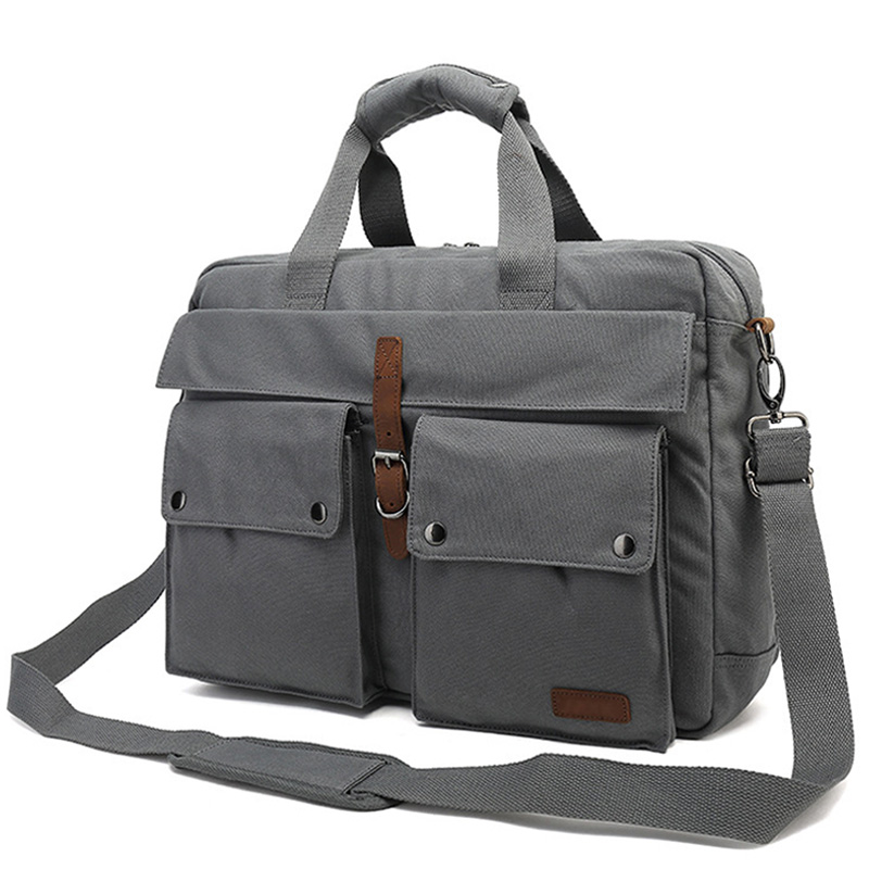 2019 Large Capacity Men Briefcase Handbag Fit For 14 Inch Laptop Crossbody Bag Multifunction Male Business Shoulder Bag XA256ZC