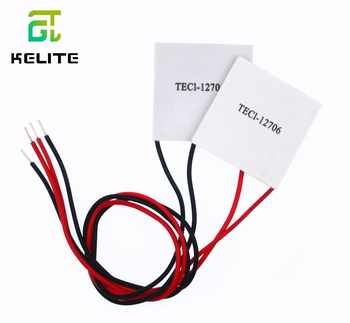 10PCS/LOT TEC1-12706 12706 TEC Thermoelectric Cooler Peltier 12V New of semiconductor refrigeration TEC1-12706 - DISCOUNT ITEM  5% OFF All Category