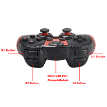 Wireless Bluetooth Mobile Gamepad With Phone Holder