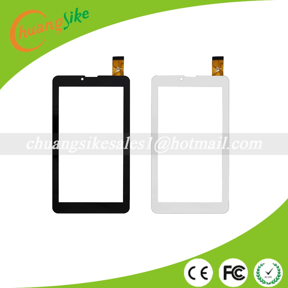 A+ New touch screen For 7 inch  Irbis TZ42 3G Tablet Touch panel Digitizer Glass Sensor Replacement ^ Random code +Film new touch screen digitizer glass touch panel sensor replacement for 7 inch irbis tz701 3g tablet free shipping