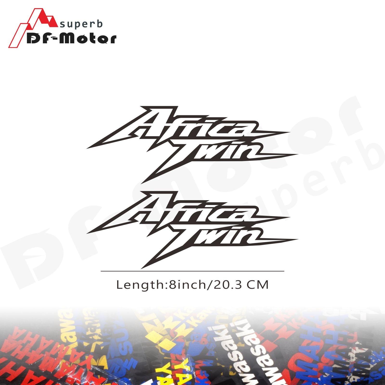 8Inch Reflective Sticker Decal Motorcycle Car Sticker Wheels Fairing Helmet Sticker Decal For Honda CRF1000L Africa Twin