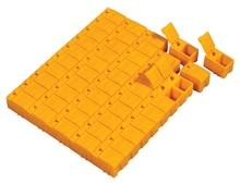 100 قطع freeshipping الربيع غطاء البلاستيك smd مكونات أجزاء مربع الكهربائية المتشابكة تخزين مربع 30 × 18 × 20 ملليمتر