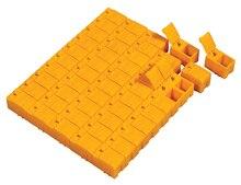 100 pces freeshipping mola capa plástico smd componentes elétricos peças caixa de armazenamento de bloqueio 30x18x20mm