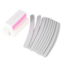 10 pcs Nail Art Nail Buffer Nail File Nail Polisher Buffing Sanding Polishing Kits