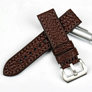 Image 2 - MAIKES New watch accessories 20 22 24 26mm Italian cow leather watchbands brown watch strap for fossil watch band