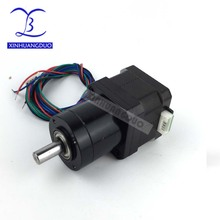 4-lead 42 motor Extruder Gear Stepper Motor Ratio 5.18 14 19 27 51 71 Planetary Gearbox Nema 17 Step Motor DC motor planetary gearbox ratio 10 1 with nema 23 120w brushless dc motor gear bldc motor