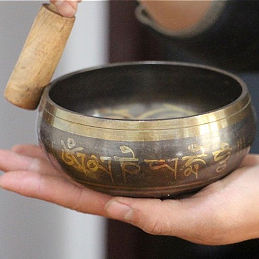 Tibetan Singing Bowl Decorative Xizang Sacrifice Sacred Dharma Monks Lama Decorative-wall-dishes Home DecorationTibetan Singing Bowl Decorative Xizang Sacrifice Sacred Dharma Monks Lama Decorative-wall-dishes Home Decoration