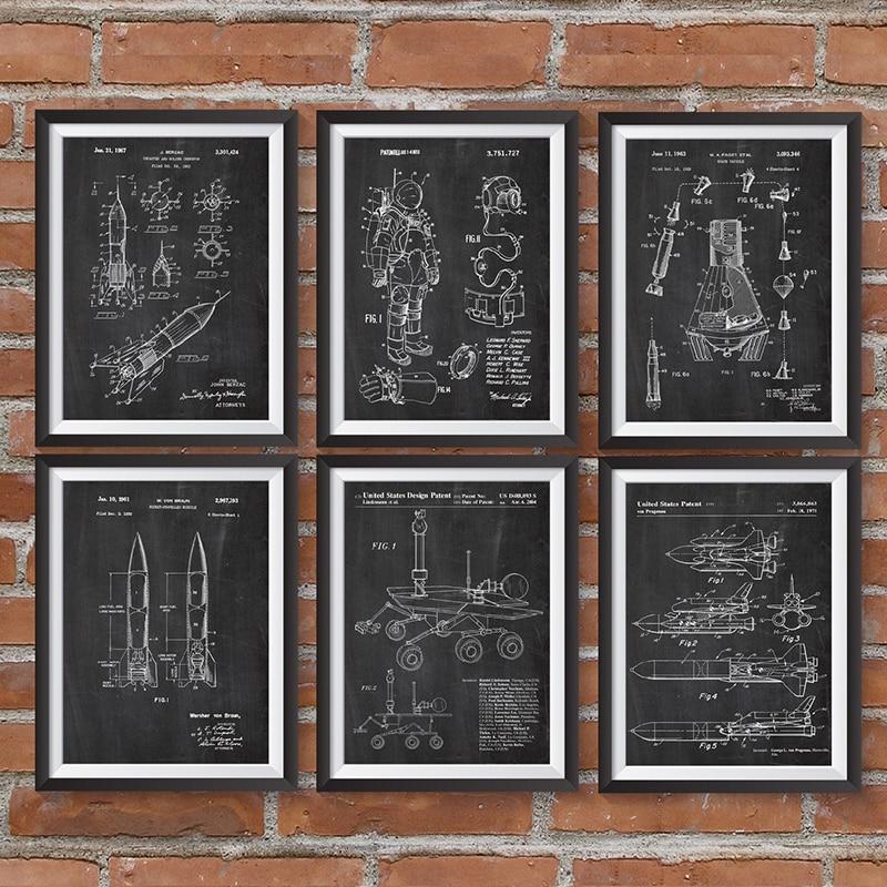 Плакаты и принты космоса, плакаты и принты космоса, плакаты с плакатами, Картина на холсте, научное искусство, настенные картины, Декор, идея ...