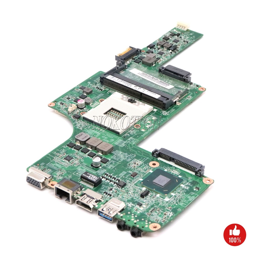 NOKOTION A000095740 DA0BU5MB8E0 for Toshiba Satellite L730 L735 Laptop Motherboard HM65 Mainboard works-in Motherboards from Computer & Office    2
