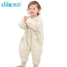 dile washing cotton baby sleeping bags sleeve moved thicken cent leg sleeping bags