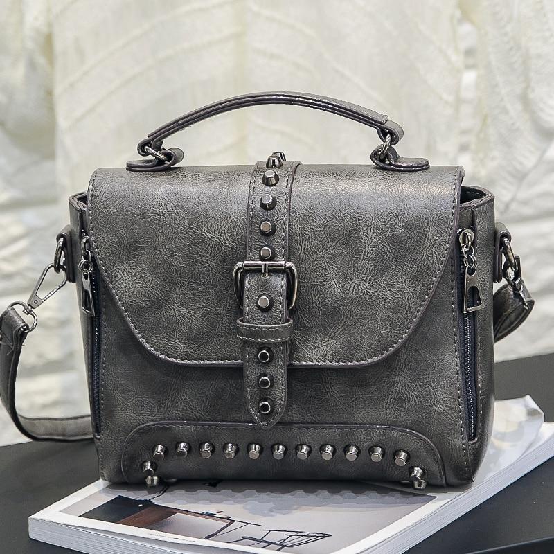 2019 Nuevas Mujeres Messenger Bags Vintage Bag Ladies Crossbody Bolsa - Bolsos - foto 2