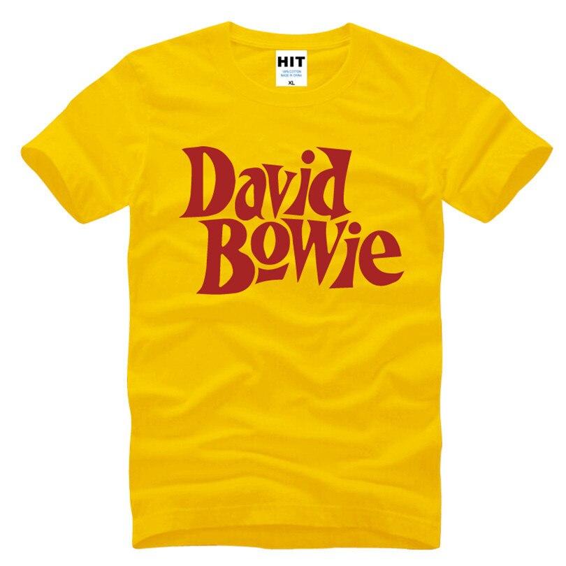 David Bowie Rock Music Memorial Männer T-Shirt T-Shirt Männer 2016 - Herrenbekleidung - Foto 2