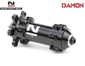 Image 5 - Tajwan Novatec D411SB D412SB 24H drogowe hamulce tarczowe piasty rowerowe Quick Release lub przez oś 12*100mm 12*142mm przód i tył
