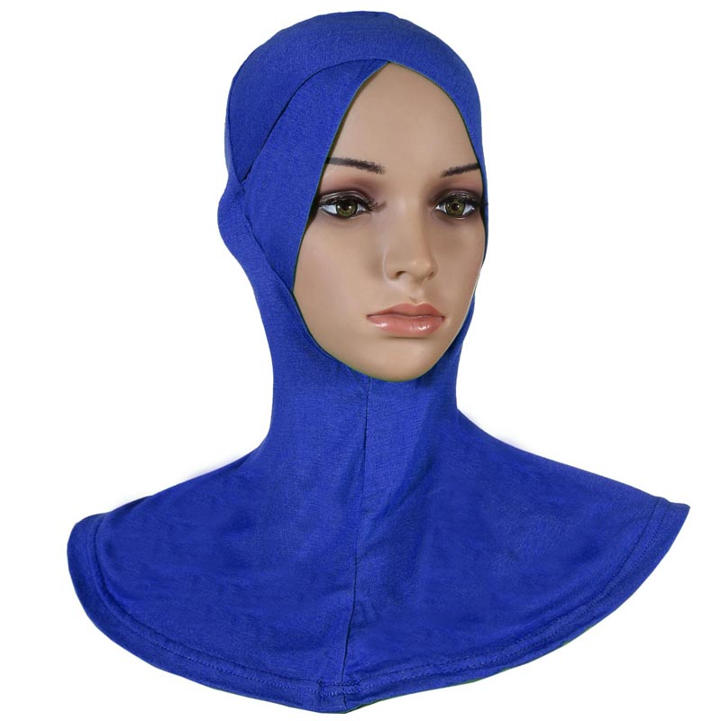 20 pieces lot muslim crossover ninja underscarf Inner Full Cover Caps underscarf can choose colors