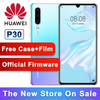 BEST DEAL] מקורי Huawei P30 Smartphone 6 1 אינץ קירין 980