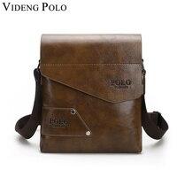 VIDENG POLO Hot Sale Business Mans Messenger Bag Leather Briefcase Single Shoulder Bag Famous Brand Crossbody