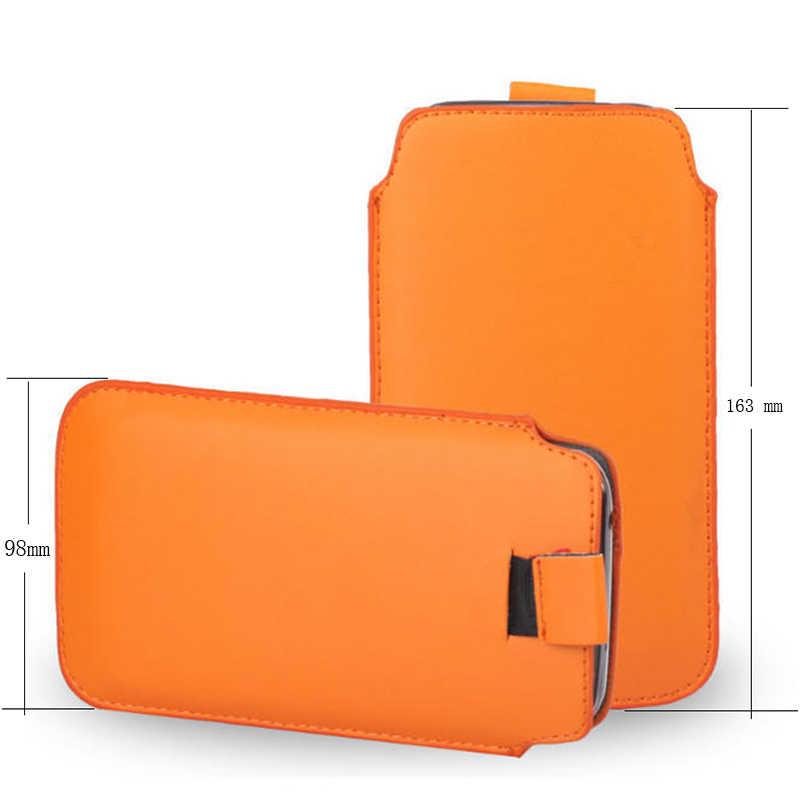 Funda de cuero a la moda para DEXP AS160/GL255/G250/B350/BS150 funda de correa de bolsillo funda para teléfono Accesorios