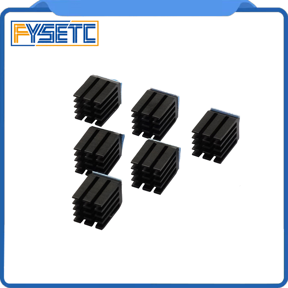20pcs/lot  StepStick Heat Sink Cooler Aluminum Heat Dissipation Suitable For DRV8825/A4988/TMC2100/TMC2208/TMC2130 Mendel
